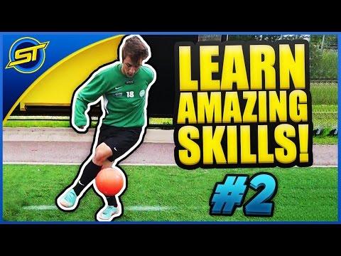 Learn Amazing Football Skills Tutorial #2 ★ Ronaldo/Messi/Neymar Skills