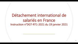 Replay Réunion actualité mai 2021 – Le détachement international de salariés en France