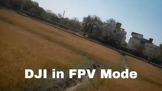 DJI Mavic Air 2 Test - FPV Normal mode (changed settings). All safety features off