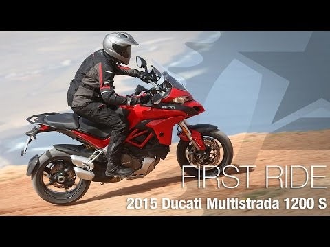 2015 Ducati Multistrada 1200 S First Ride - MotoUSA