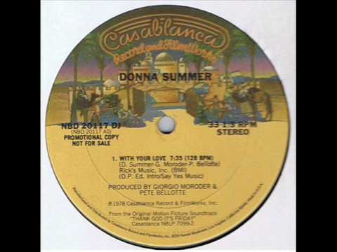 With Your Love (Song) by Donna Summer