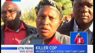 An anti-stock theft officer shoots and kills his spouse and child in Subukia