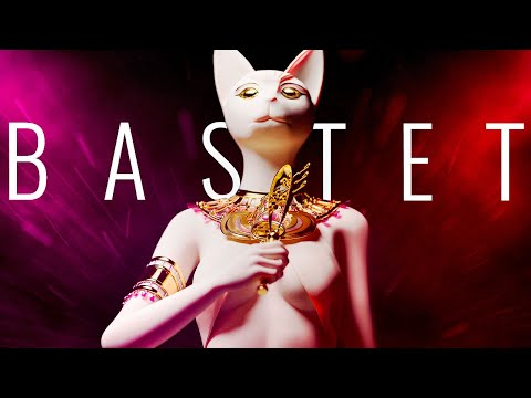 Bastet kattengodin in Egypte video