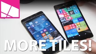How to fit more the Live Tiles on Lumia 950