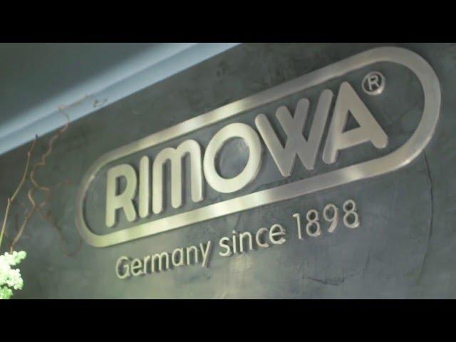 RIMOWA STORE OPENING AMSTERDAM