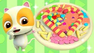 Lagu Membuat Pizza Terbaru | Kumpulan Film Bayi Panda & Bayi Kucing | BabyBus Bahasa Indonesia