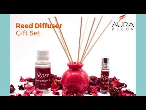 AuraDecor 30 ml Lemongrass Reed Diffuser Oil