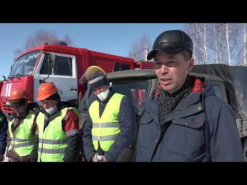 Зональные учения по тушению лесных пожаров в Кугарчинском лесничестве