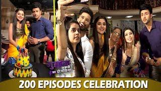 Guddan Tumse Na Ho Paega Celebrating 200 episodes on set