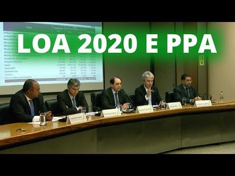 Governo apresenta proposta de Orçamento 2020 e PPA - 30/08/19