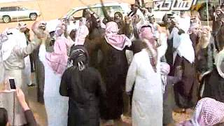 #جديد_الساحة 1436 هـ   شيخات الطنايا   مسيرة منقية رجل الأعمال / صالح بن علي بن فهد الشمري