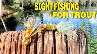 "Trout Fishing With CUSTOM JIG ""FUZZ HEADS"" [ San Diego Fishing ]"
