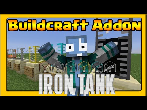 Minecraft ITA - Mod:  IRON TANK  - BUILDCRAFT ADDON