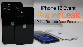 iPhone 12 Event Super Leak - Prices, Colors, Features and more