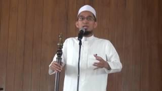 Ustad Adi Hidayat Lc MA Khutbah Jum'at Di Azzikra 03 Maret 2017