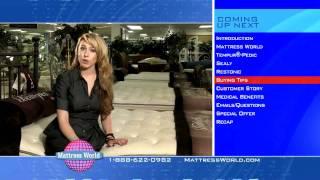 Long Format Infomercial for Mattress World