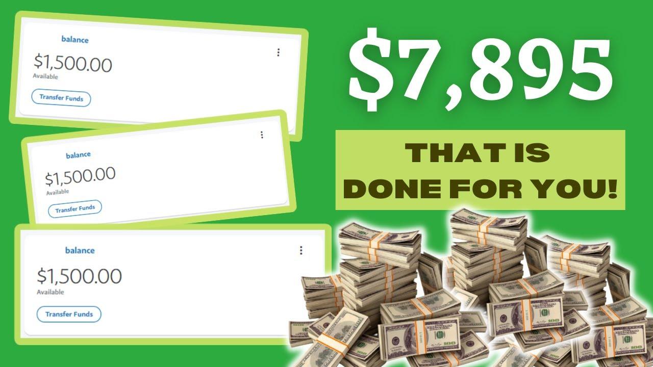 Make $7,895 Using This New APP (Make Money Online 2021) thumbnail