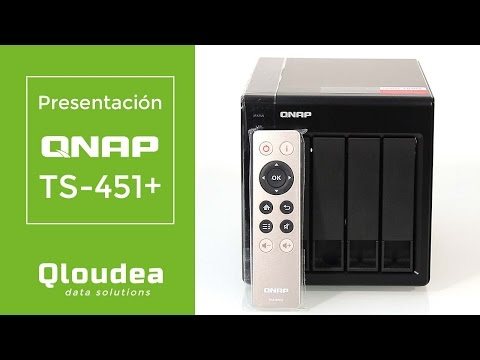 TS-451+-2G 4 NAS bahías Intel Celeron 2.0GHz Quad Core (up to 2.42GHz) 2GB DDR3L