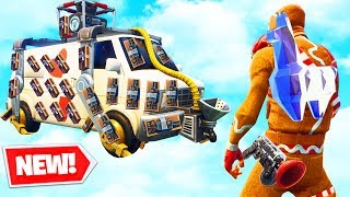 *NEW* EXPLOSIVE ESCAPE TRUCK (Getaway LTM) - Fortnite