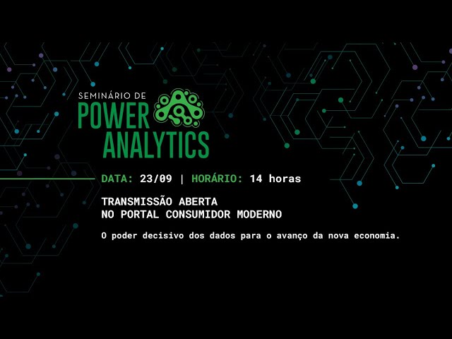 Seminário de Power Analytics
