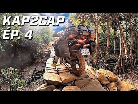 Cap Nord to Capetown ► 26.000 km en Ténéré 700 ►épisode 4