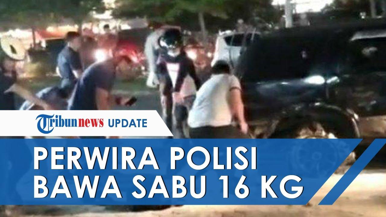 Perwira Polisi di Riau yang Bawa Sabu 16 Kg Ditangkap, Berusaha Kabur hingga Diberondong Tembakan