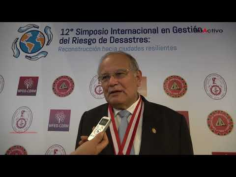 Jorge Alva Hurtado - 12 Simposio de Gestión del Riesgo de Desastres
