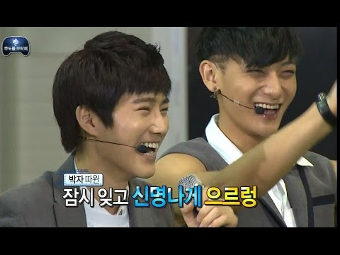 【TVPP】EXO - 'Wolf' by Infinite Challenge, 엑소 - 비교 체험! 무한도전 멤버들의 늑대와 미녀 @ Infinite Challenge