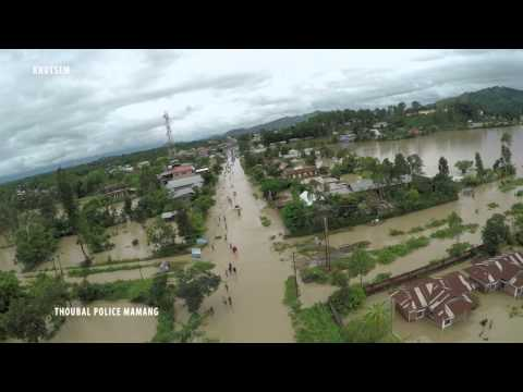 Watch drone footage of Manipur floods which locals are calling the worst in two centuries