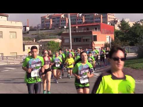 Mil persones participen a la 4a Alzehimer Race d'Igualada