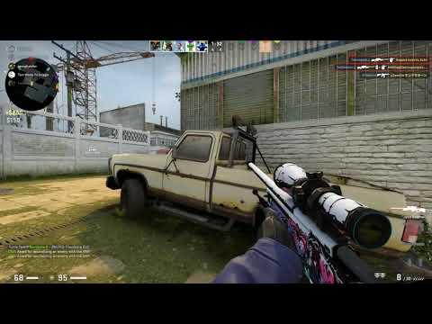 Cache Collateral Wallbang CSGO (Clip+Drop)