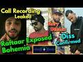 Raftaar Exposed Bohemia   Bohemia Voice Clip Leaked   J Hind Deleted Story   Raga Diss !!!