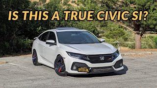 2019 Honda Civic Si Sedan Review - WHERE IS THE VTEC?