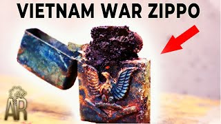 Zippo lighter restoration - Vietnam War repair