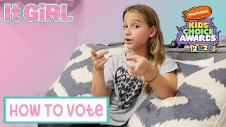 📱How To Vote In the 2020 Nickelodeon Kids' Choice Awards!