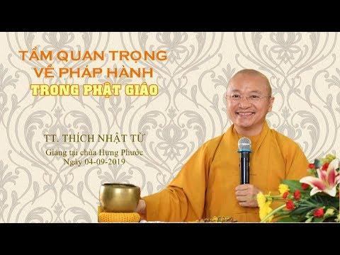 Tầm quan trọng về pháp hành trong Phật giáo