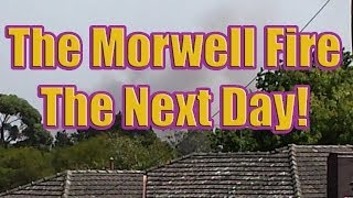 preview picture of video 'The Next Day of the Morwell Fire (Hazelwood Open Cut Mine Smokes)'