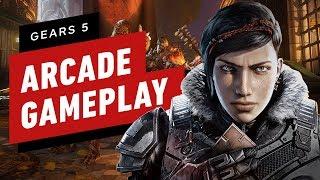 Gears 5 Arcade Tech Test Gameplay