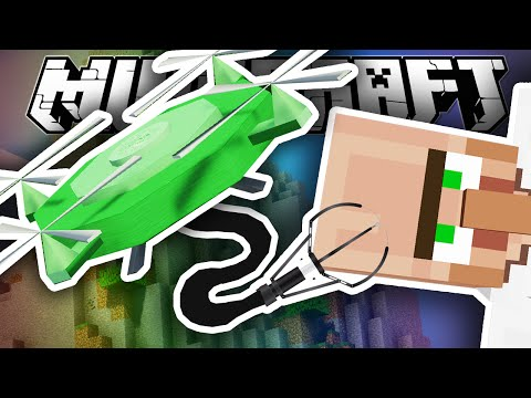 Minecraft Lab | BRAND NEW MINECRAFT DRONES!!