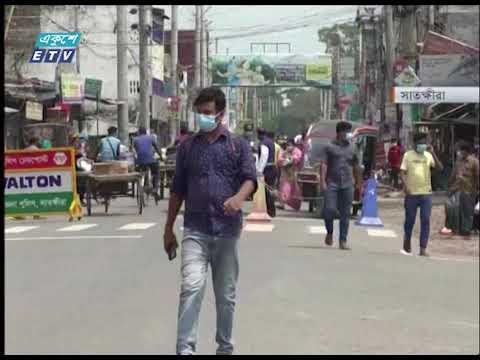 কঠোর বিধি-নিষেধেও সীমান্ত জেলাগুলোতে কমছে না করোনা | ETV News