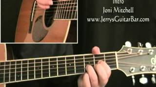 How To Play Joni Mitchell All I Want (intro only)
