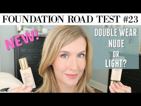 NEW! Estee Lauder Double Wear Nude vs Double Wear Light | FOUNDATION REVIEW & COMPARISON