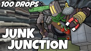 I Dropped Junk Junction 100 Times And This Is What Happened