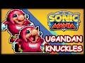 Ugandan Knuckles Travels Through Da Classic Wae - Sonic Mania Mod Showcase