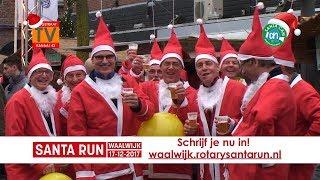 Santa Run Waalwijk 2017 - Promo