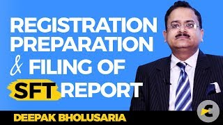 Video Guide for Registration, preparation and filing of Income Tax SFT report (Form 61A)