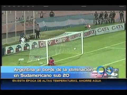 Enero 14 de 2013 Argentina sigue sin convencer a su público en el Suramericano Sub 20