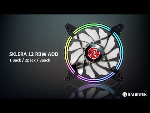 RAIJINTEK SKLERA 12 RBW ADD-1,2,3 Riing Fan