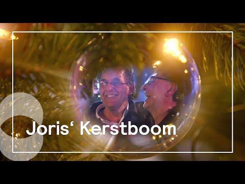 Kerstboom gebaseerd op tv-programma van Joris Linssen in de drie bibliotheken