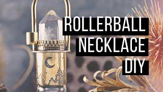 Rollerball Necklace DIY | Bead And Bones